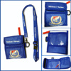 Polyester Lanyard With Nylon Passport Bag