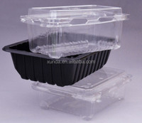 Different kinds of plastic blister tray for fruit and food