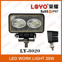 Tuning Light LED Rechargeable Work Light CE Rohs Approved IP67 Portable 12V DC 20W Car LED Worklight