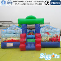Indoor Outdoor Inflatable Fun City For Amusement Park Inflatable Playground