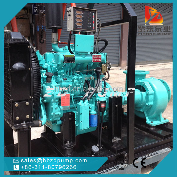 electric power and water use mixed flow pump