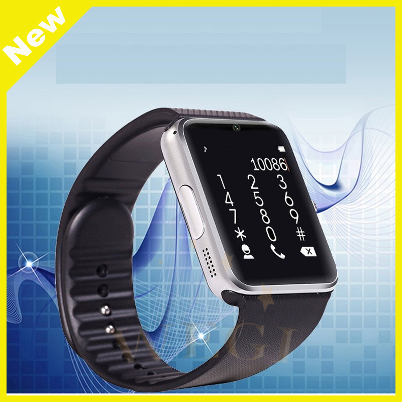 2017 Hot Factory Supply GT08 Smart Watch phone with Camera