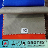 high color fastness cotton Proban fire retardant fabric for breathable workwear