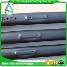 Water-saving drip irrigation tape with flat dripper for agriculture