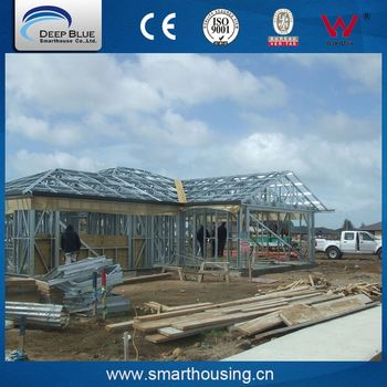 Total quality controled light steel house