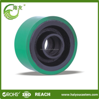 High Performance and Strong 3 inch solid small pu wheels