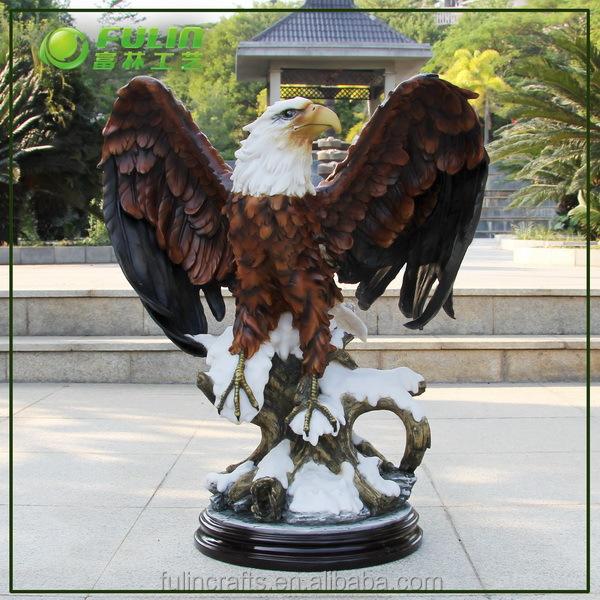 Polyresin eagle sculptures for home decoration view eagle for Eagle decorations home