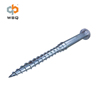 Steel galvanized screw piles for house and garden building