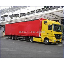 truck cover lorry curtain pvc coated tarpaulin cover