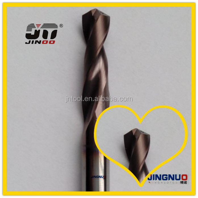 JINOO CNC Cutting Tools solid carbide straight shank 160mm diamond core drill bit for hard rock
