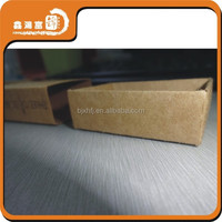 recycled 180g kraft paper brown box packaging