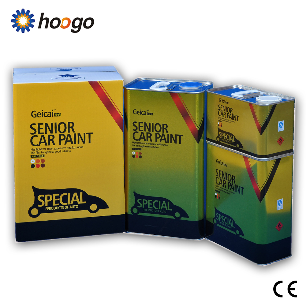 special price lacquer 2K hardener for car putty