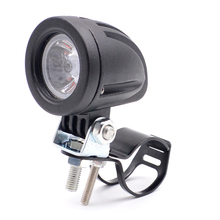 12V 24 volt mini Bike Lamp Scooter Autocycle Autobike Round 10W CRE E LED Motorcycle Spot Light