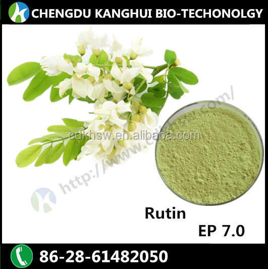 High quality 100% natural plant extracts for Rutin 250249-75-3