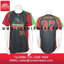 custom wholesale plain baseball tee / jerseys / uniforms