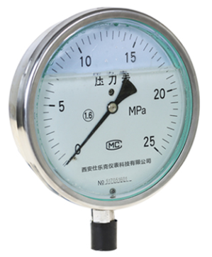 Stainless steel pressure gauge manometer movement
