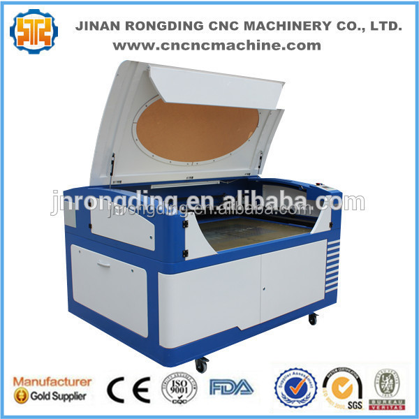 China CNC co2 laser engraving machine engrave for surface of metal and nonmetal materials