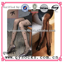 lady jacquard stocking/legging/pantyhose