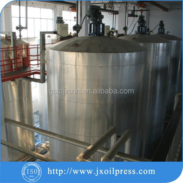 Soya oil refinery plant/china soyabean oil refinery machine