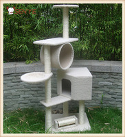 Lovable Climbing Frame Tree Hide And Play Pet Products Scratcher Cat Tower House
