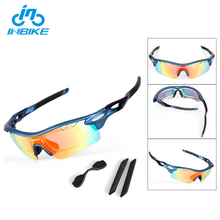 INBIKE Wholesale Outdoor Cycling Glasses TR90 Sunglasses