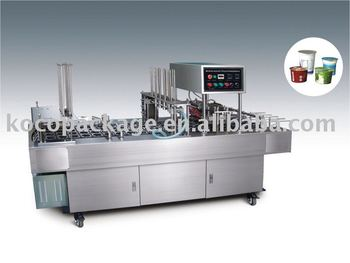 BG60V/BG32V Automatic cup filling and sealing machine