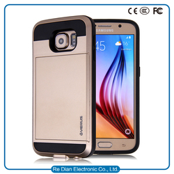 luxury TPU PC super slim body mobile phone case for Samsung galaxy s7