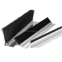 professional steel wire weather strip brush for door seal