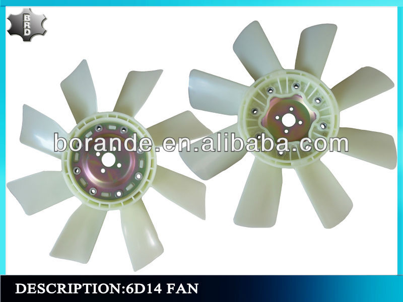 6D14 Mitsubishi Engine Cooling Fan Blade ME039960 HD800 Excavator Cooling Fan