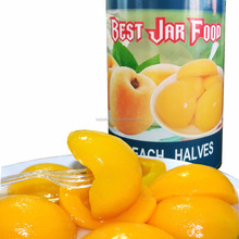 Fresh Canned Yellow Peach Fruit In Halves Factory Direct
