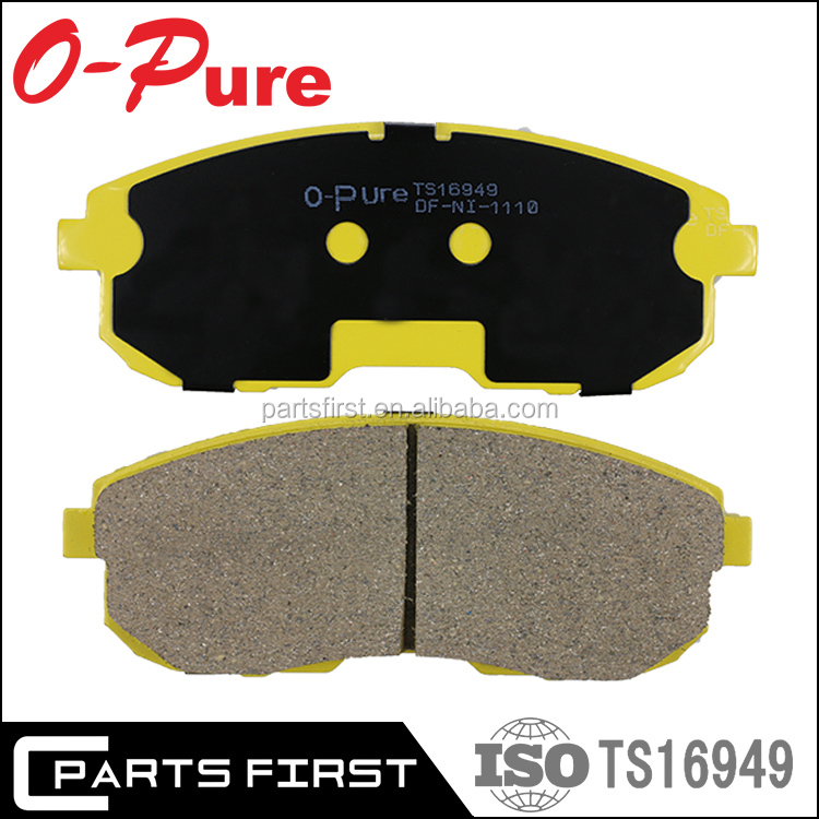 OEM Wholesale Standard Professional Auto Parts Japanese Car Disc Brake Pad Manufacturer 41060-5Y790 MK D1110M For Nissan Altima