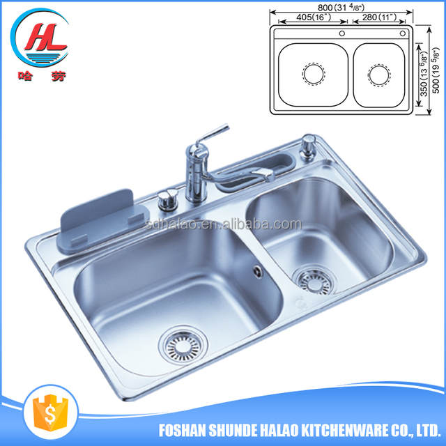 China manufacture high quality sink divider kitchen stainless steel sink work table