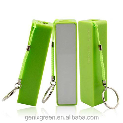 2600mah gift power bank charger for iPad, iPhone, Kindle, camera, bluetooth headset, and air card, audiobooks
