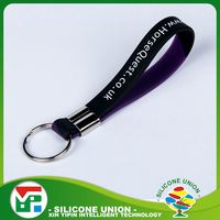 Long working life single color blank key chains