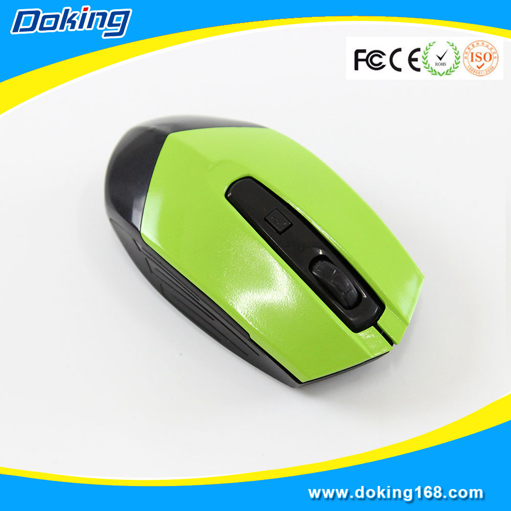 China computer logo printed 2.4ghz wireless optical mouse