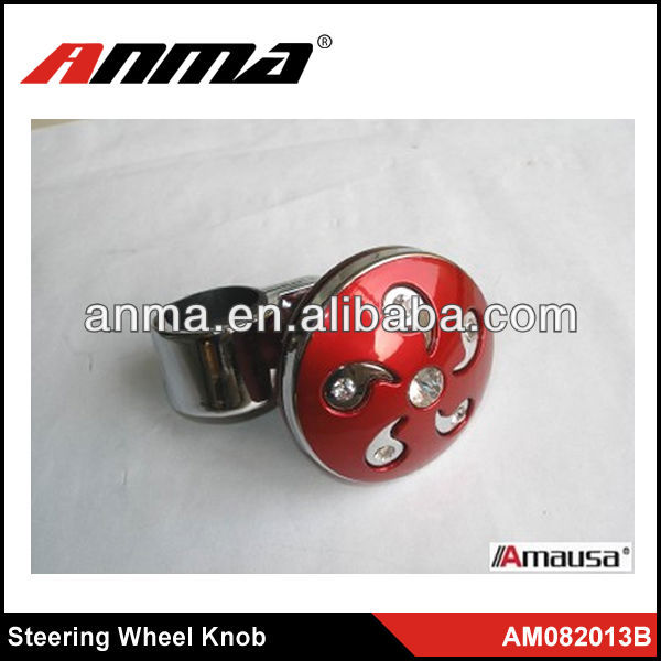 Steering wheel helper steering wheel spinner knob