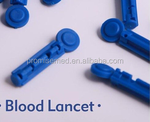(Lancing device) Sterile Stainless Steel disposable blood glucose lancet