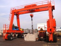 Cheap and famous tyred gantry crane box type