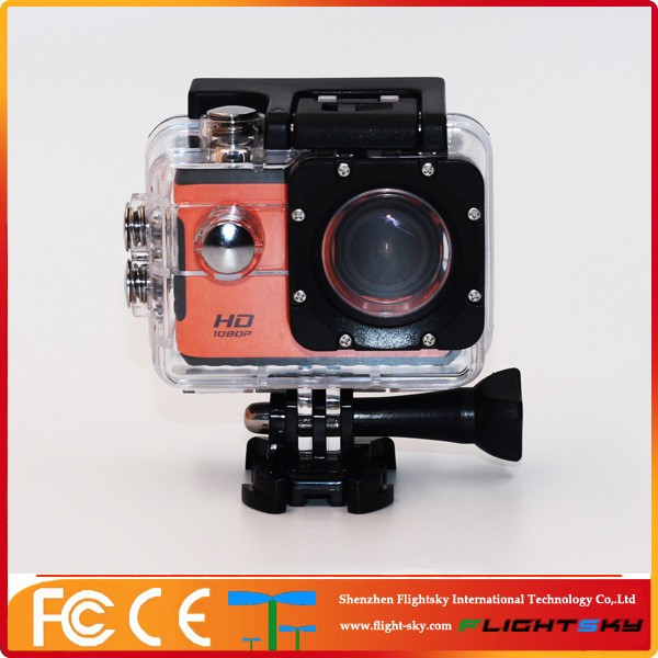 Go pro style Waterproof Sports Cam Full Hd 1080p F71 Wifi Action Camera Mini DV Cam