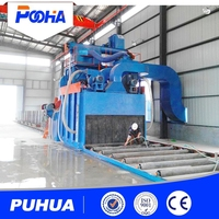 conveyor bead shot blasting machine for sale