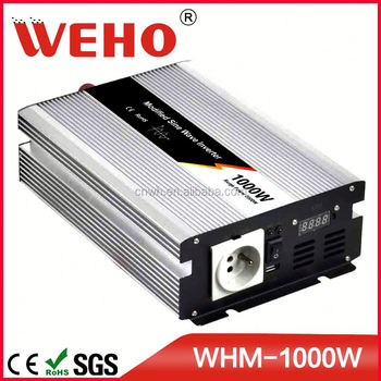 High efficiency 1000w 110v carspa power inverter