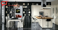 kitchen corner pantry cabinet with fridge and microwave stand special island design