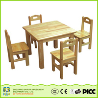 Most Popular Products China Kindgarten Wooden Furniture Sets Cheap Kids Reading Table And Chairs Clearance