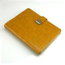 Leather binder notebook for 2012 souvenir,2012 leather notebook