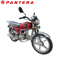 New Chinese Mini Motorcycle Four Stroke Gas 70cc Street Bike For Adult