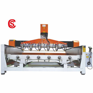 Chaosheng 3D Cylinder Engraving Machine Stone Granite Marble Cnc Router Cnc Carving Machine