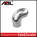 Safe and Durable 304 stainless steel pipe end protection caps for handrail