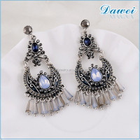 fashion earring designs new model earrings with beaded tassel necklace