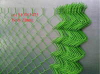 Light Green Chain Link Netting/Diamond Netting Fence(FACTORY PRICE)