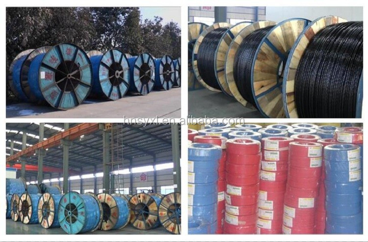 High temperature flexible rubber insulated power cable with copper conductor